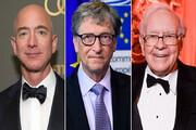 اینفوگرافیک | لیست ثروتمندترین مردان جهان در سال ۲۰۲۰