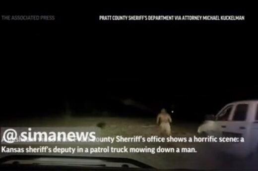 ببینید | اقدام وحشیانه و غیرانسانی پلیس آمریکا در تقابل با یک مرد سیاهپوست