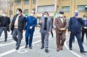 بازدید استاندار البرز از دانشگاه فرهنگیان در کرج
