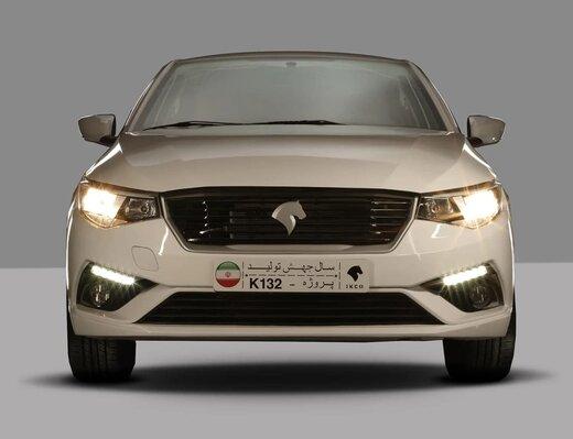 رکوردهای متعدد ایران خودرو در زمینه تولید / تولید انبوه «تارا» آغاز شد