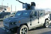 عکس   رونمایی از خودروی زرهی امنیتی بومی یمنی