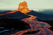 ببینید | شکار لحظات هولناک فوران آتشفشان در هاوایی آمریکا