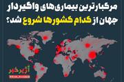 اینفوگرافیک   مرگبارترین بیماریهای واگیردار جهان از کدام کشورها شروع شد؟