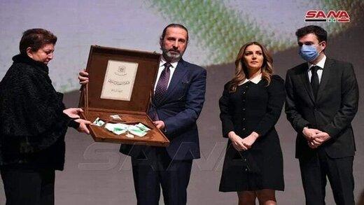 بالاترین نشان افتخار سوریه به ولید المعلم رسید