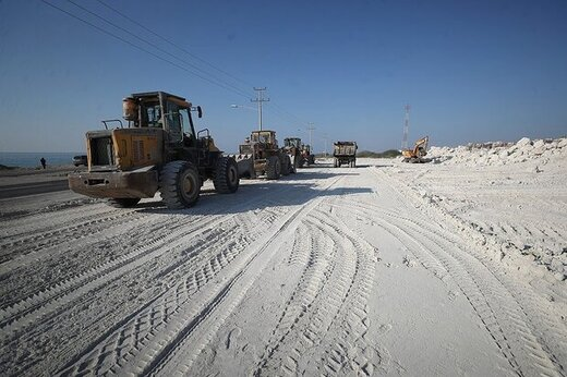 آغاز بزرگترین طرح توسعه مسیرهای ساحلی در جزیره کیش