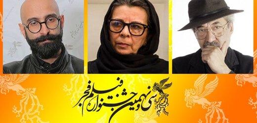 معرفی داوران بخش مسابقه تبلیغات سینمای ایران در جشنواره فجر
