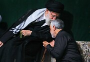 حضور سرزده رهبر انقلاب و سردار سلیمانی در مراسم «بله برون» یک عروس