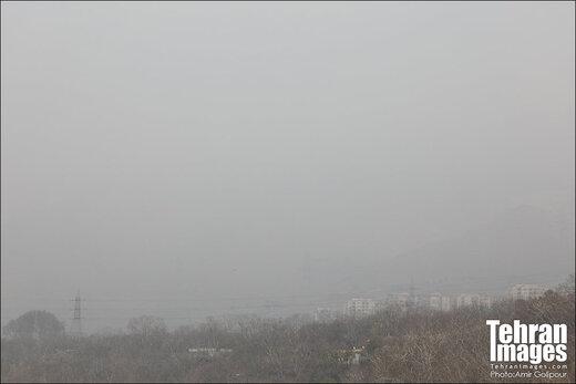اطلاعیه هواشناسی درباره افزایش آلایندههای هوا در تهران