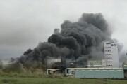 ببینید | وقوع انفجار مرگبار در کارخانه داروسازی تایوان