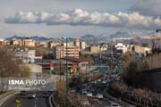 ببینید | آسمان آبی و رویایی پنجم دی در تهران