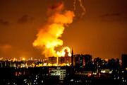 ببینید | شنیده شدن صدای انفجار در نزدیکی فرودگاه اربیل