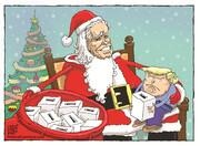ببینید: هدیه کریسمس جو بایدن برای ترامپ!