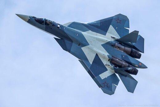 ارتش روسیه به جنگنده سوخو۵۷ مجهز شد