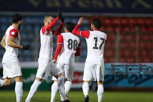 تمرین پرسپولیسیها بدون گلمحمدی و در دو ورزشگاه