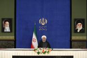 افتتاح فاز نخست پالایشگاه نفتخام فوقسنگین قشم توسط روحانی
