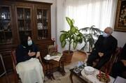 دیدار رییس بنیاد شهید و امور ایثارگران با خانواده شهدای ارامنه