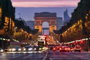 ببینید | حال و هوای این روزهای خیابان «شانزلیزه» پاریس