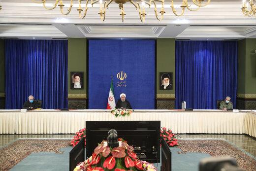 روحانی: منطقه قرمز در کشور نداریم /تحریم ها را بی اثر خواهیم کرد