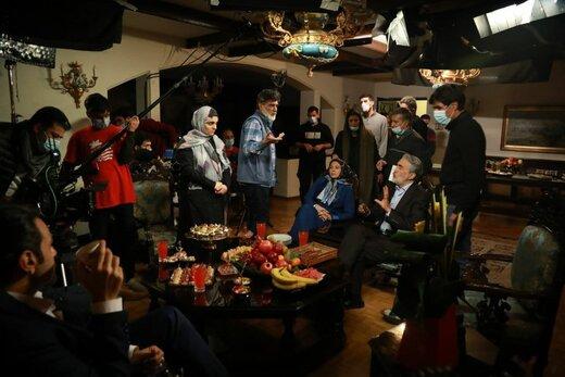 تصاویر جدید از سریال علیرضا افخمی/ آرش مجیدی و میلاد میرزایی جلوی دوربین «دعوت نحس»