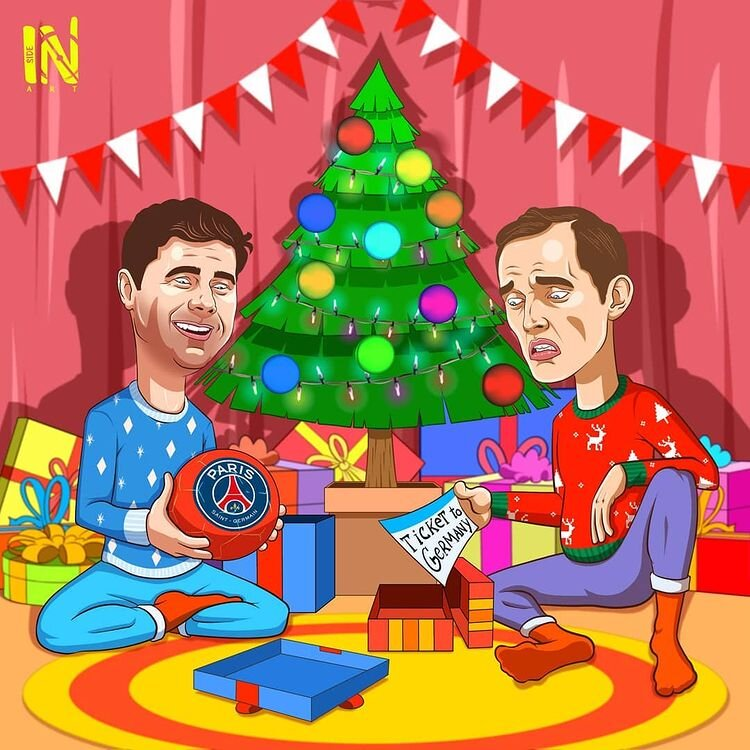 هدیه کریسمسی این دو مربی رو ببینید!