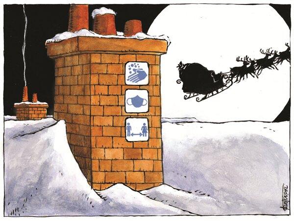 هدیه امسال بابانوئل رو ببیننید!