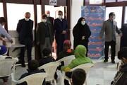 اهدای تبلت به دانش آموزان نیازمند استان البرز