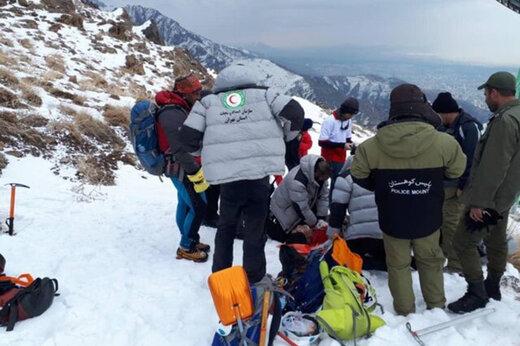 آغاز مرحله جدید جستجوی مفقودان ریزش بهمن در ارتفاعات شمال تهران