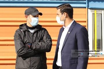 یحیی گلمحمدی به باشگاه پرسپولیس رفت