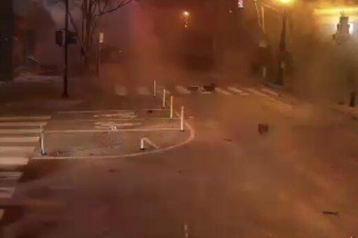 انفجار شدید یک خودرو در آق قلا؛ نیروهای نظامی و انتظامی در صحنهاند