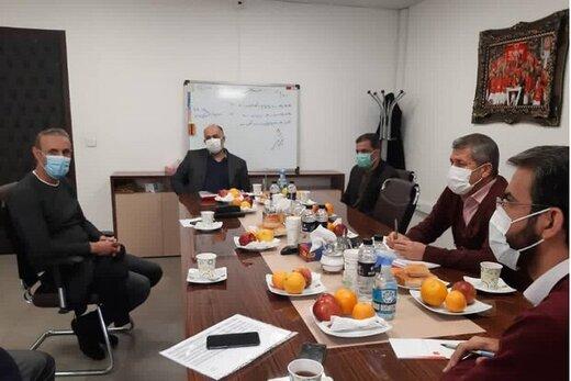 جلسه ویژه هیئت مدیره پرسپولیس برای بررسی صحبتهای گلمحمدی
