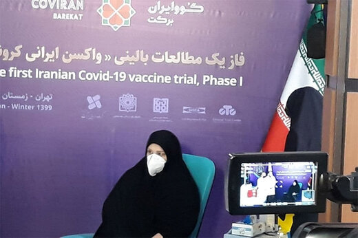 ببینید | صحبتهای اولین دریافت کننده واکسن کرونای ایرانی پس تزریق واکسن