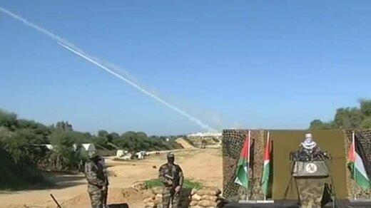 تصاویری از نخستین رزمایش مشترک نیروهای مقاومت فلسطین