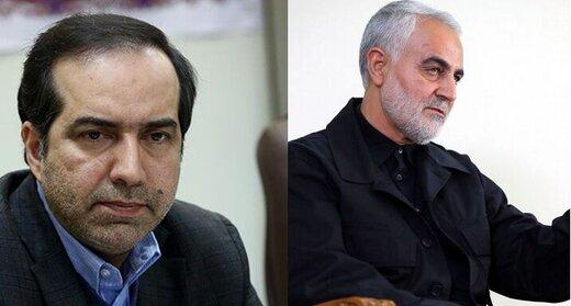 حسین انتظامی: تبیین وسعت نظر شهید سلیمانی در دستور کار صدا و سیما قرار گیرد