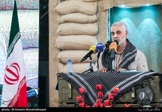 سخنان منتشر نشده سردار سلیمانی / حزبالله میتواند ارتش اسرائیل را دفن کند /خاخامهای یهودی با گریه از غزه عقب رفتند