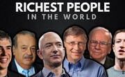 ببینید | ثروتمندترین افراد جهان در سال ۲۰۲۰