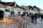 ببینید | تصاویر هوایی از خسارتهای زلزله کرواسی