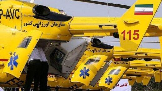 افزایش دو برابری جایگاه فرود بالگرد اورژانس هوایی در استان همدان