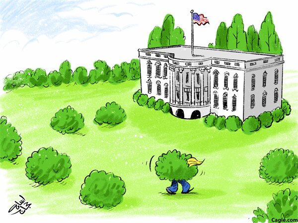 راهکار ترامپ برای ماندن در کاخ سفید رو ببینید!