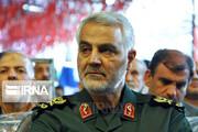 بازداشت فرد اهانتکننده به تصویر سردار سلیمانی در غزه