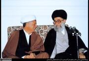 آیت الله خامنهای ریاست را نپذیرفت و آقای هاشمی رفسنجانی را پیشنهاد داد