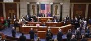 قطعنامه برکناری ترامپ تصویب شد/عکس