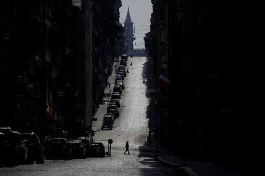ببینید | قرنطینه سراسری و خیابان های خلوت در ایتالیا