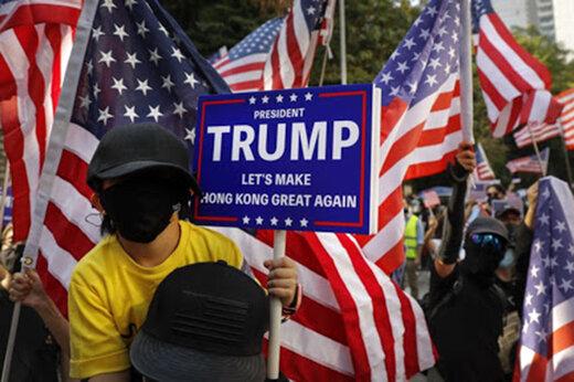 ببینید | واشینگتن از ترس خشونت ترامپیستها آرایش جنگی گرفت
