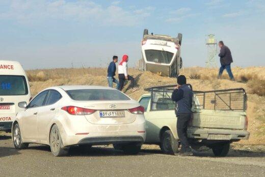 دو حادثه کمتر از ۲۴ ساعت در جاده وهن آباد/جاده های خراب بدون علائم رانندگی