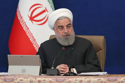 پیام مهم روحانی به آمریکایی ها در آخرین روز ریاست جمهوری ترامپ