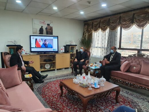 دیدار استاندار کهگیلویه و بویراحمد با رئیس جمعیت هلال احمر جمهوری اسلامی ایران
