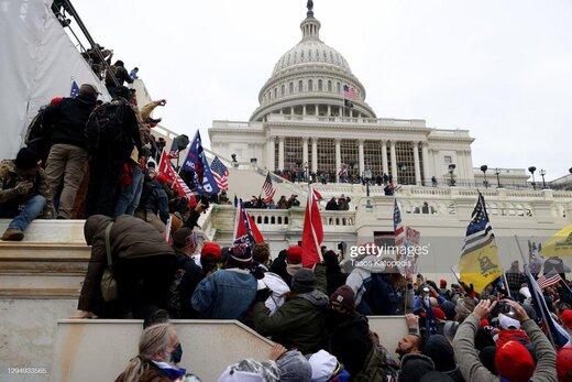 تصویر زنی که در اغتشاشات کنگره کشته شد/عکس