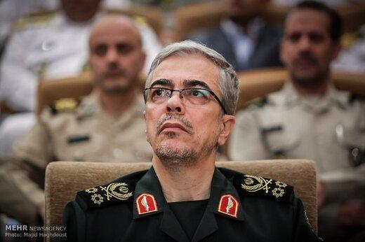 پیام تسلیت سرلشکر باقری به رئیس ستاد ارتش عراق