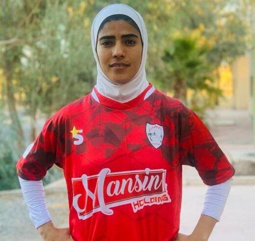 تاریخ سازی حمودی در لیگ برتر فوتبال زنان