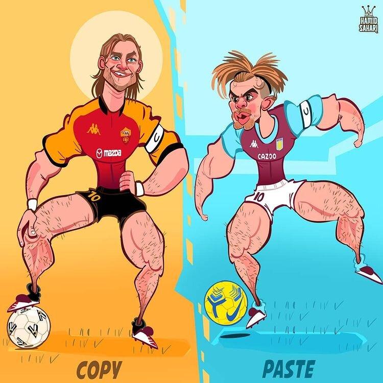 نسخه کُپی از گلادیاتور رومی در فوتبال انگلیس را ببینید!